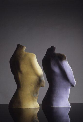 Backs, 1984, ceramic
