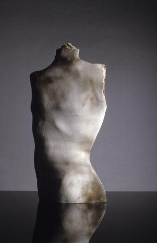 Grey Orpheus, 1984, ceramic