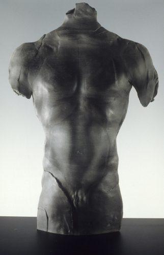 Black Male Figure, 1988, ceramic