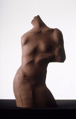 Red Jenny, 1988, ceramic