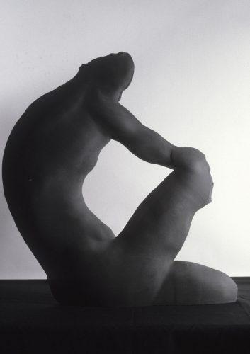 Black Bear, 1987, ceramic
