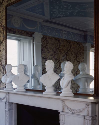 The Soane family  at Pitzhanger Manor, 2013, ceramic