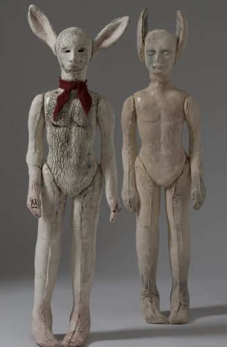 Elves, 2012, ceramic