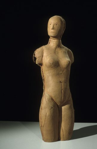 Child of Glass, 1995, ceramic