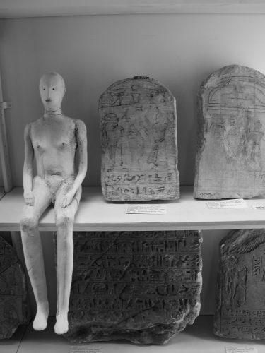 Figures in the Petrie Museum, 2006, ceramic