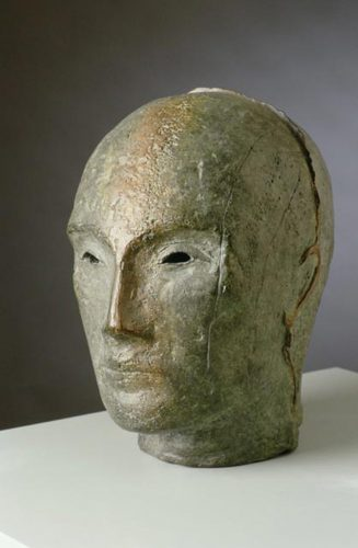 Glyptotek Head, 2002, bronze