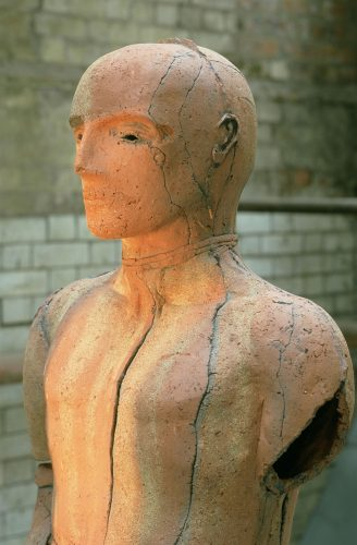 Prometheus, detail, 2000, brick clay