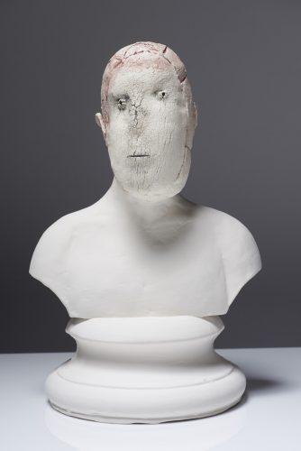 Tired Person, 2015,  ceramic