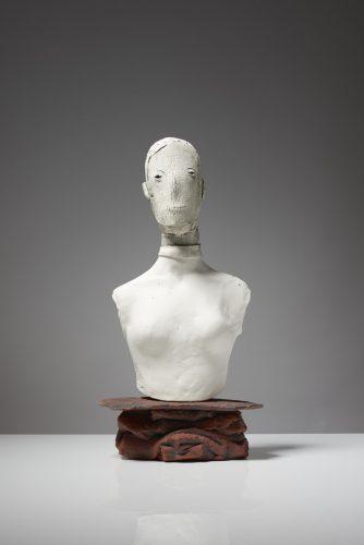 Ghost Portrait, 2015, ceramic