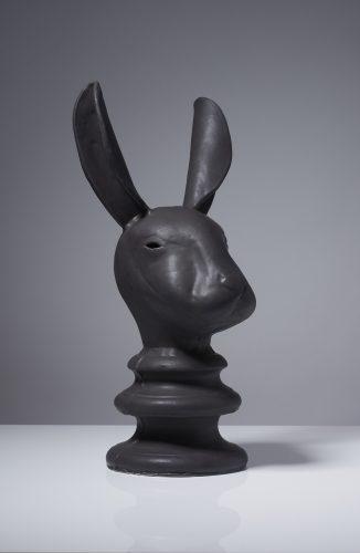 Pawn Hare, 2015, ceramic
