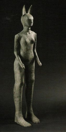 Entre Chien et Loup - Jackal, 2003, bronze