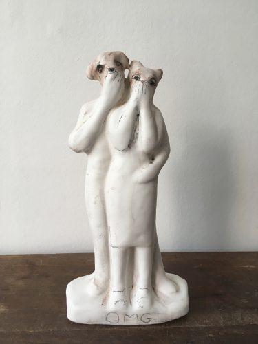 OMG, 2019, ceramic