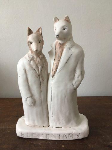 Elementary, 2019, ceramic