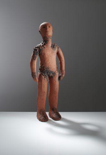 Red Burryman, 2019, ceramic