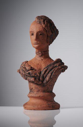 Pensive Portrait, 2020, Ceramic