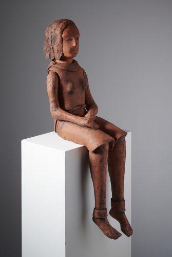 Contemplation, 2021, Ceramic