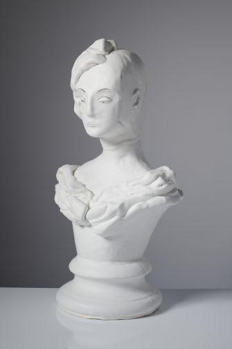 Wistful Portrait, 2020, Ceramic